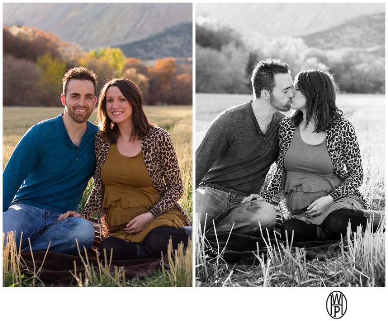 Utah maternity photos in Butterfield Canyon