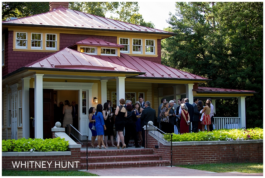 Hendry house wedding