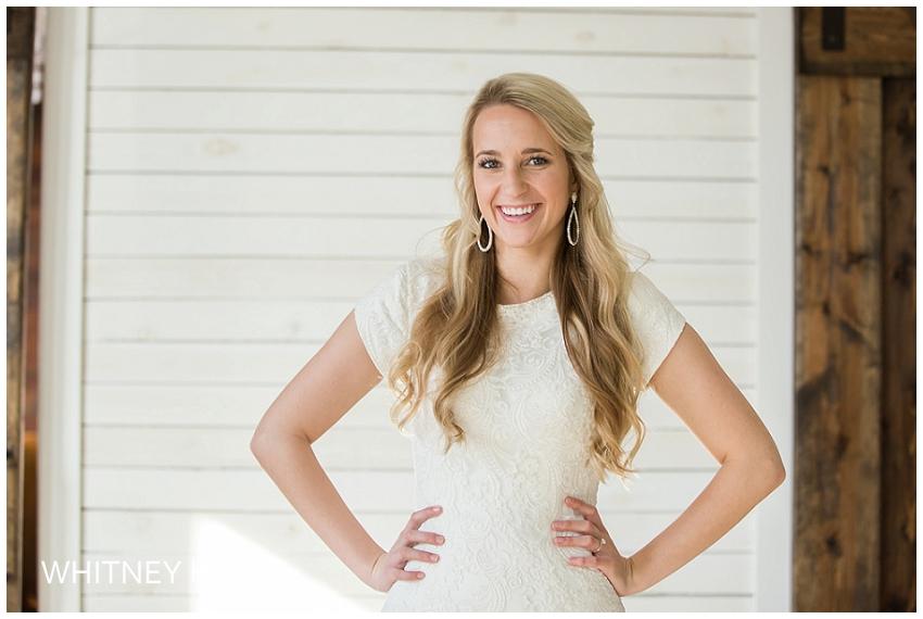 Lehi Studio Bridal Session | Emma (and TJ too)