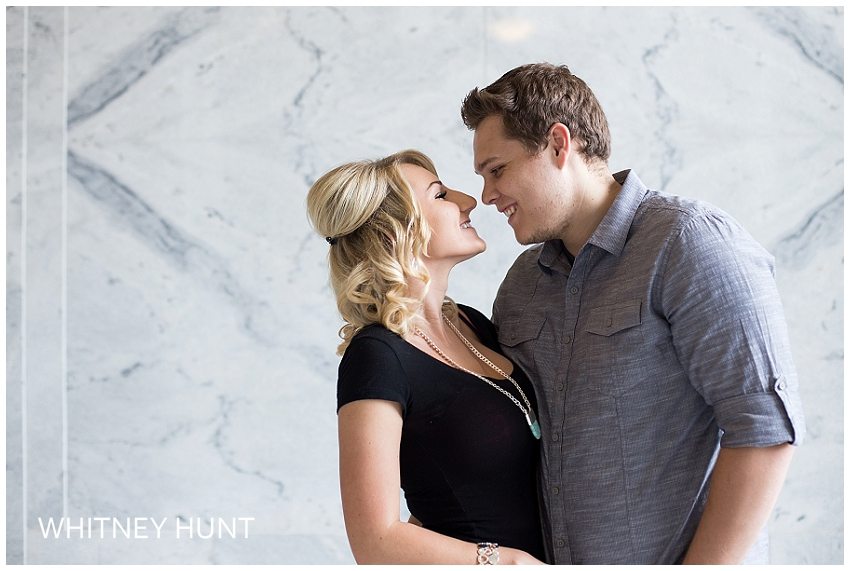 Salt Lake Capitol Engagement Session | Mika & John
