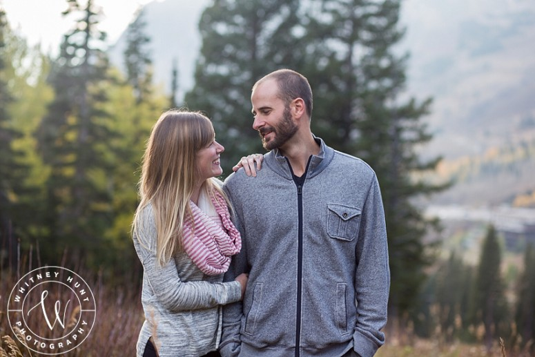 Fall Albion Basin Engagement Session | Kate & Sam