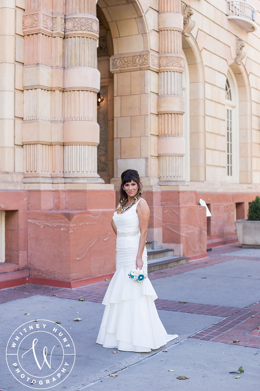 Downtown Salt Lake City Bridal Session | Brittany